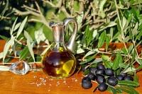bottiglia olio d'oliva