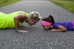 sport genitori e figli, dare il buon esempio