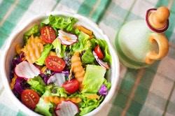 insalata, vegetali crudi, verdura cruda