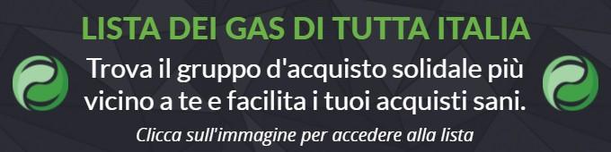 lista Gruppi Acquisto Solidale italiana