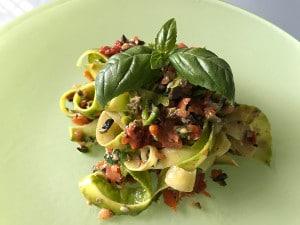 il mio pesto con pasta di zucchine - Riccardo Ze