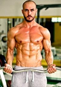 massimo brunaccioni bodybuilder vegano