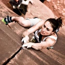 steph davis scalatrice vegana