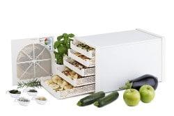 essiccatore per frutta verdura crackers per alimentazione crudista
