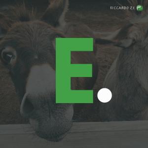 Che cosa significa la e di vegan